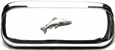 Salmon Fishing Glasses Spectacle Case  Gift FREE ENGRAVING POSTAGE