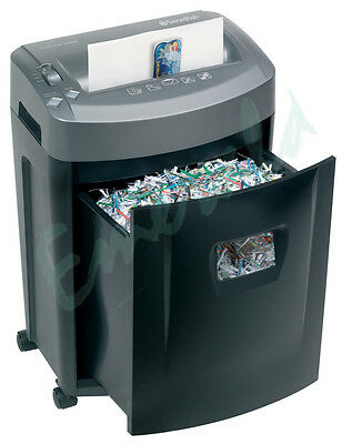 Swordfish 1000XC Cross Cut Home Office Paper Credit Card Shredder - Great Value