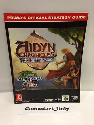 Aidyn Chronicles Strategy Guide (Guida Strategica) Guide In English