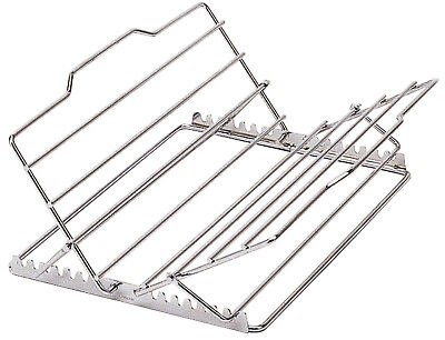 Kitchen Craft Adjustable Chrome Oven Roasting Roast Meat Rack Trivet 29 x 28cm
