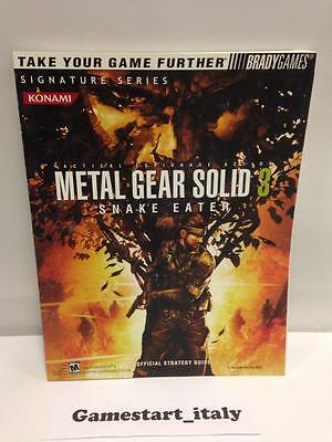 Metal Gear Solid 3 Snake Eater Strategy Guide (Guida Strategica) In English