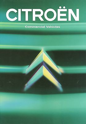 1996/97 Citroen Light Commercial Range Brochure
