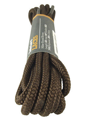 Timberland Replacement Laces Hiker Brown Round Shoelaces Bootlaces - Free Uk P&p