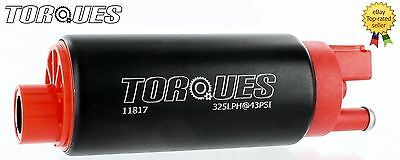 TORQUES 340 Ltrs/hr In Tank Fuel Pump GM Inlet Design #11817