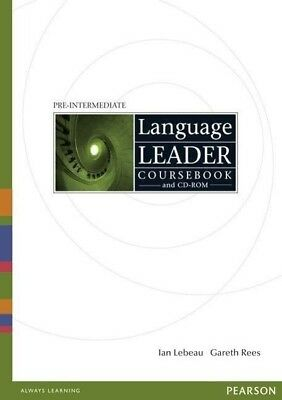 Language Leader Pre-Intermediate. Coursebook with CD-ROM - 9781405826877