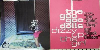 GOO GOO DOLLS 1998 DIZZY UP THE GIRL  2 sided promo poster/flat ~NEW old stock~!