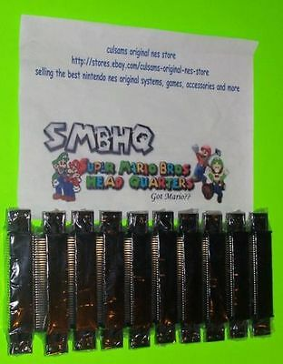 10 New Wholesale Lot Nintendo Nes 72 Pin Connector With A 180 Day Guarantee