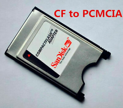 ($0 p&h) CF TYPE 1 ADAPTER PCMCIA CF for Laptop Compact Flash CF Card to PCMCIA