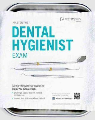 Master the Dental Hygienist Exam by Peterson's Paperback Book (English)