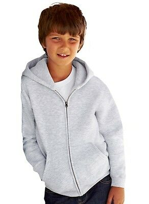 FRUIT OF THE LOOM -- Kids Kapuzen-Sweatjacke