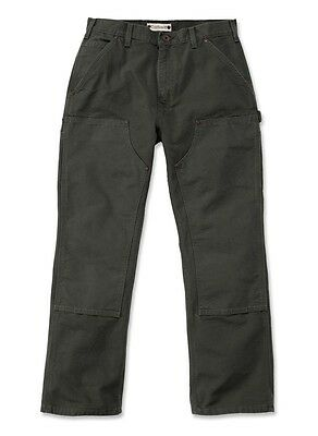 CARHARTT -- Washed Duck Double-Front Work Dungaree
