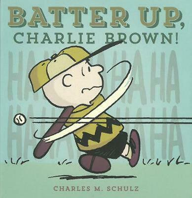 Batter Up, Charlie Brown! by Charles M. Schulz (English) Hardcover Book Free Shi