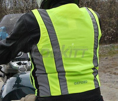 Oxford Bright Top Active Reflective safety breathable vest motorcycle