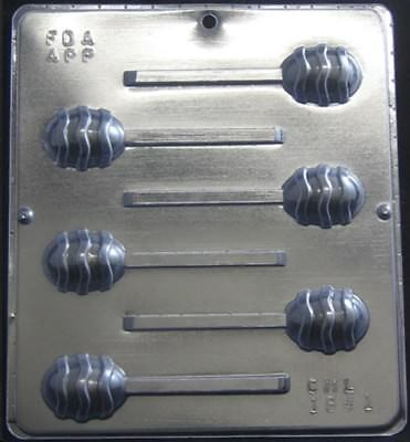 Easter Egg Sucker Pop CHOCOLATE Candy  MOLD  Lollypop