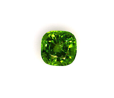 Burma Peridot-11.84Ct Square Cushion Cut