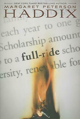 Full Ride by Margaret Peterson Haddix (English) Hardcover Book Free Shipping!