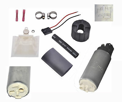 New Walbro GSS342 255 LPH High Pressure Fuel Pump & 400-857 Installation Kit