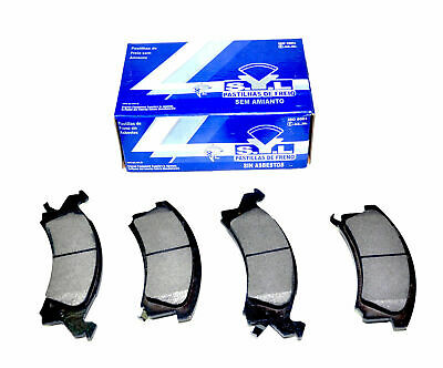 AMS 800-1330 Rear Pads 2009 2010 2011 2012 2013 2014 2015 FORD E450 SUPER DUTY