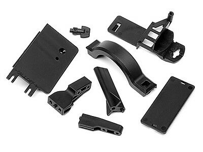 Hpi Racing 100909 Battery Box Mount/cover Set [Chassis Parts] New Genuine Part!