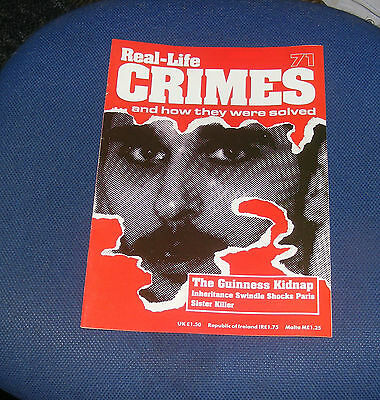 Real Life Crimes Number 71 - The Guinness Kidnap/walter Carlaftes