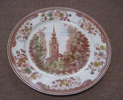 Brown & Ritchie Poly Chromatic Old North Church Plate
