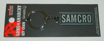 Sons of Anarchy TV Series SAMCRO Logo Metal Keychain, NEW UNUSED