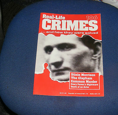 Real Life Crimes Number 106 - Stinie Morrison The Clapham Common Murder