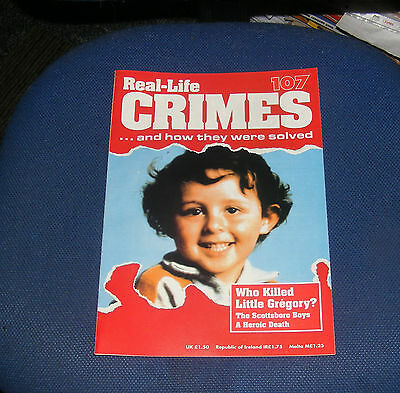 Real Life Crimes Number 107 - Who Killed Little Gregory/the Scottsboro Boys