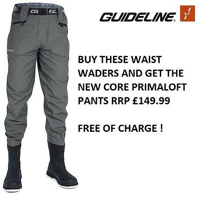 Guideline Diver Sonic Waist Waders (Bootfoots) * 2017 STOCKS *
