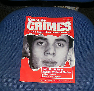 Real Life Crimes Number 116 - Petrolini & Elsey Murder Without Notice
