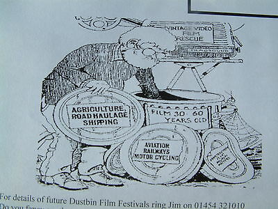 Dustbin  Film Show  some of the films shown now on  DVD Trains Steam Engines