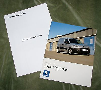 2008 Peugeot New Partner Brochure