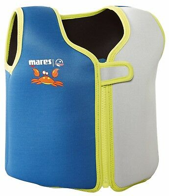 NEW Mares Childrens Boys Girls Swimming Buoyancy Aid Learn to Swim Vest Jacket