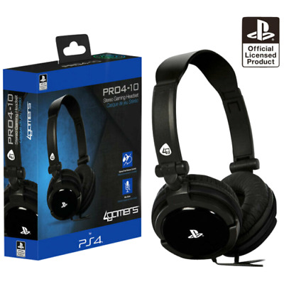 Sony Officially Licensed Stereo Gaming Headset For PS4 & PS Vita  Playstation 4