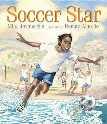 Soccer Star by Mina Javaherbin (English) Hardcover Book Free Shipping!