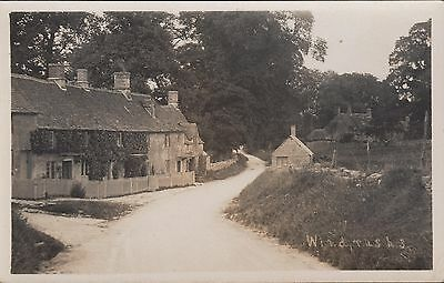 Windrush Village, Gloucestershire, RP postcard, posted 1925