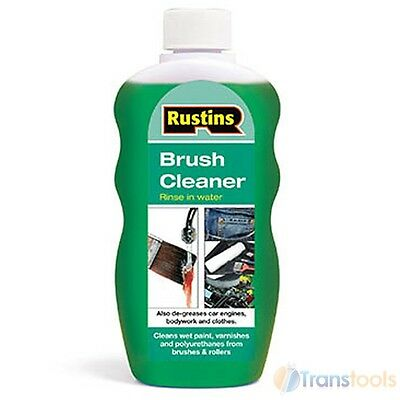 Rustins Paint & Varnish Brush Cleaning Solution and Roller Cleaner 300ml