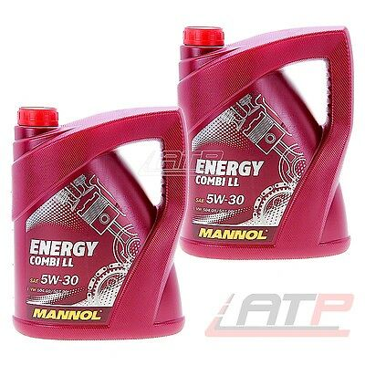10 Litres Engine Oil Mannol 5W30 Energy Combi Ll Vw 504.00/507.00 50400/50700
