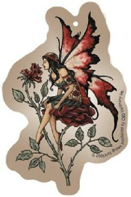 Amy Brown Rose Fairy Art Image Air Freshener, NEW UNUSED SEALED