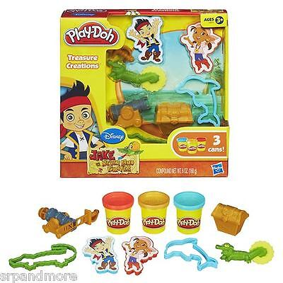 Jake and the Never Land Pirates Play-Doh Treasure Set-New & Sealed