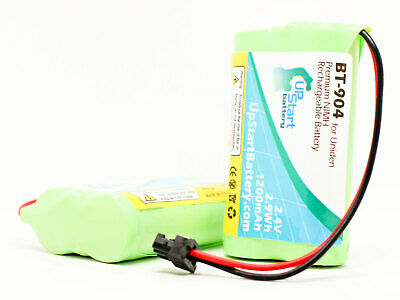 2x Replacement Battery for Uniden DECT1580-2, BT1015, New, Lifetime Warranty