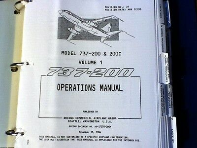 FlightSafety Boeing 737 Operations Manual