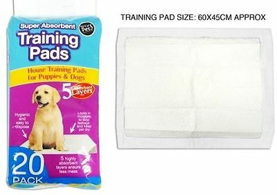 Puppy Dog Pet House Training Trainer Pads Super Absorbent Wee Covers Mats