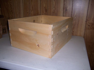 Bee Keeping 10-Frame Deep Brood w/ Frames and Plastic Foundation (BZ89/Z100P)