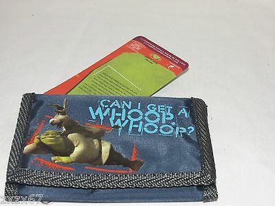 New With Tag Shrek 2  Trifold Kids Wallet 2004 Dreamworks