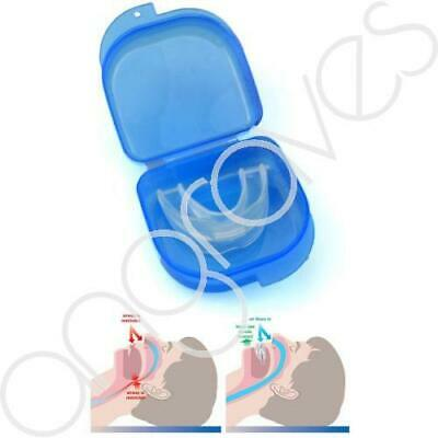 Anti Snore Solution Mouth Piece Device Snoring Stopper Aid Sleep Apnoea Sleeping