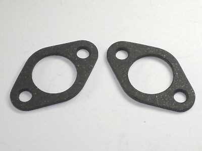 "Carb insulator / spacer block gaskets for 30mm amal pwk 70-2968 paper 1/8"" thick"