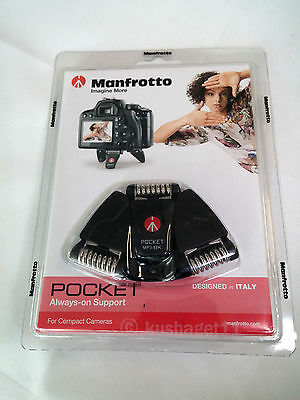 MANFROTTO MP3 Black Pocket Support Large (NEW) Tabletop Mini Tripod
