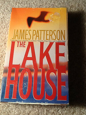 THE LAKE HOUSE by James Patterson audiobook; Time Warner 2003 used 5 cassettes