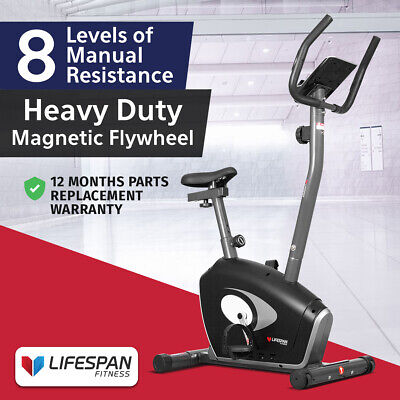Lifespan EXER-57 New Upright Exercise Bike #Magnetic Resistance Home Gym Fitness